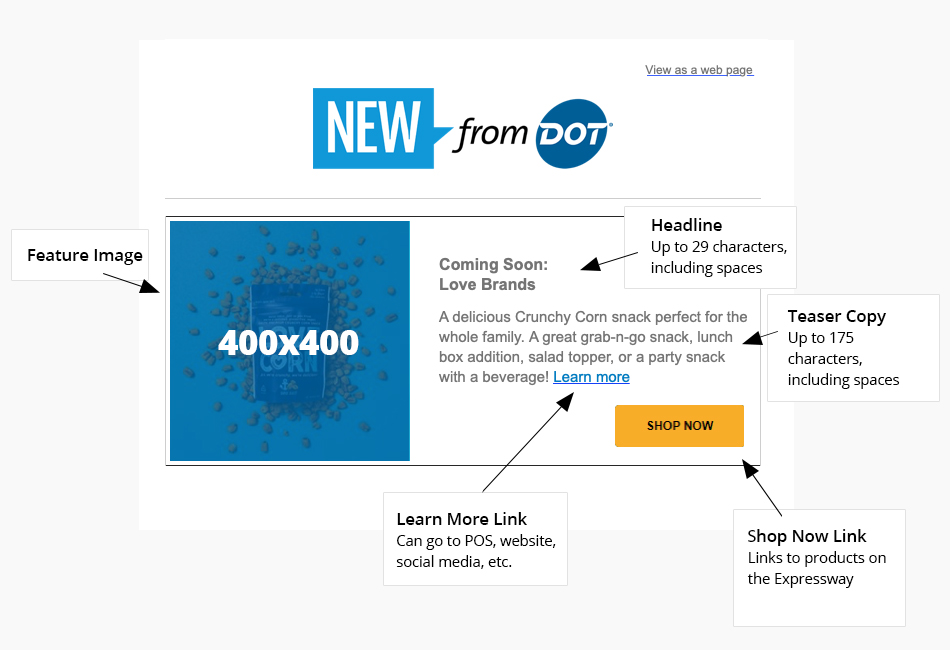 New From Dot
